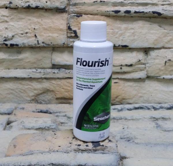 【西高地水族坊】美國原裝進口 西肯Seachem FLOURISH 高濃度液肥(100ml)