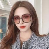 墨鏡ins潮明星網紅大臉眼鏡墨鏡韓版個性復古原宿方框太陽鏡女防紫外 衣間迷你屋