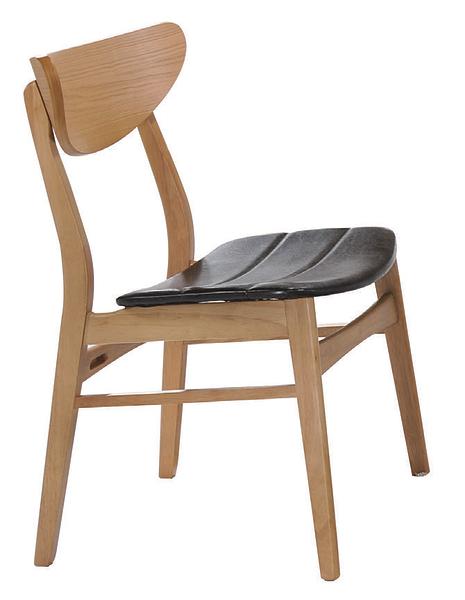 【 IS空間美學】史迪奇原木色餐椅