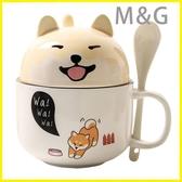 MG 馬克杯情侶杯子創意可愛超萌大容量水杯馬克杯帶蓋勺家用牛奶咖啡陶瓷杯