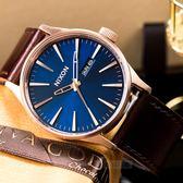 【人文行旅】NIXON | A105-2867 SENTRY LEATHER 簡約時尚皮革腕錶