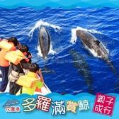 【花蓮】多羅滿-賞鯨親子券(一大一小)