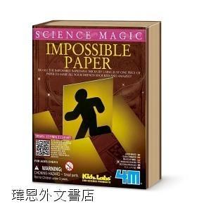 魔法紙雕 Science Magic-Impossible Paper 變魔術學科學 魔術道具 適合5歲以上