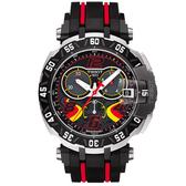 TISSOT 天梭 T-Race STEFAN BRADL 限量計時手錶-45mm T0924172705702