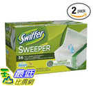 [美國直購 ] Swiffer 掃地濕布 Sweeper Wet Cloth (2 pack X 32 pcs)