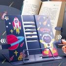 讀書架 兒童讀書架多功能閱讀書架桌上桌面看書固定書本支架翻書夾書靠書【快速出貨八折鉅惠】