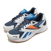 Reebok 慢跑鞋 Royal Hyperium 白 藍 男鞋 復古 經典跑鞋 運動鞋 【ACS】 FV0301