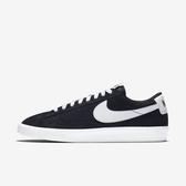 Nike Blazer Low Prm Vntg Suede [538402-004] 男鞋 運動 休閒 緩震 穿搭 黑