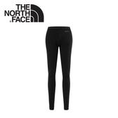 【The North Face 女 FlashDry 保暖緊身褲《黑》】CL80-JK3/吸濕排汗/建身/戶外/運動
