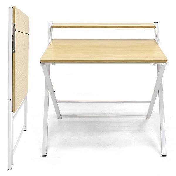 輕便折疊桌收納X型雙層書桌.工作桌筆電桌辦公桌.兒童寫字桌用餐桌子.家具傢俱推薦哪裡買ptt
