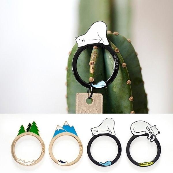 鑰匙圈-可愛造型鑰匙環/飾品/小禮物/配件-共4色-FuFu
