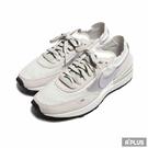 NIKE 女 休閒鞋 W NIKE WAFFLE ONE 灰紫 情侶-DC2533101