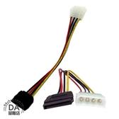 4pin SATA 電源線 排線 10cm 硬碟 線材(12-002)