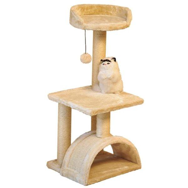 貓爬架貓玩具劍麻貓抓板貓爬樹大小碼實木跳臺吊床貓窩