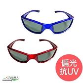 【南紡購物中心】【Acrobio】偏光抗UV太陽眼鏡-中童-亮鋁紅/亮鋁藍(附收納盒)
