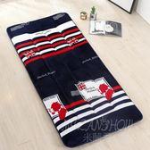 加厚保暖褥子宿舍學生床床墊床褥單雙人秋冬款墊被