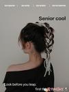 髮夾4條網紅仿珍珠串發帶女綁發氣質隱形無痕發夾2021年新款編發頭飾 愛丫 新品