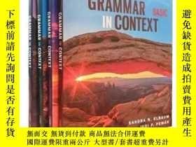 二手書博民逛書店國家地理罕見實踐情境語法書【Grammar in context