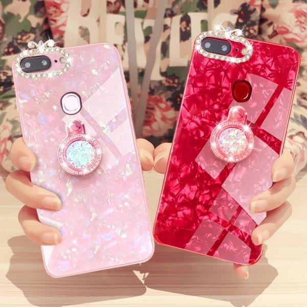 oppor15手機殼女款r15夢境版oppor11s全包r11plus玻璃潮r11st個性套