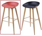 吧檯桌椅 CV-758-13 7038吧台椅(紅色)【大眾家居舘】