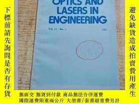 二手書博民逛書店OPTICS罕見AND LASERS IN ENGINEERINGY235182 F.P.CHIANG G