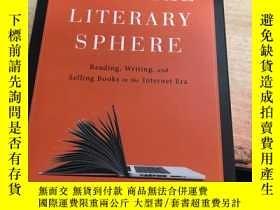 二手書博民逛書店mueeay罕見the digiital literary sphere數字文學領域Y25607