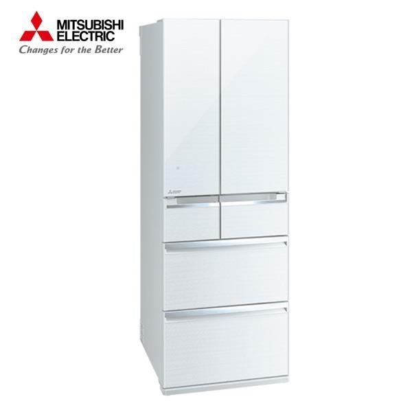 【南紡購物中心】MITSUBISHI 三菱  525公升六門變頻冰箱 水晶白 MR-WX53C-W