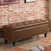 歐式收納凳儲物箱服裝店沙發凳子長方形換鞋凳坐凳實木鞋櫃可坐人·享家生活館 IGO