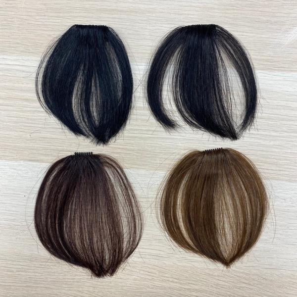100%真髮 空氣瀏海髮片 純手工超迷你網片 更輕更薄 L022 魔髮樂Mofalove