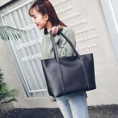 正韓新款女包肩背包正韓時尚休閒大容量手提包包托特包 海港城