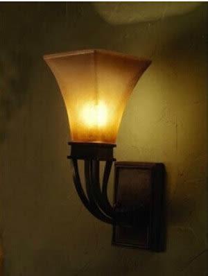 設計師美術精品館歐式做舊鐵藝玄關過道壁燈 美式鄉村臥室燈 客廳書房懷舊壁燈