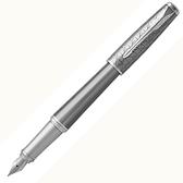 PARKER 派克紳士系列銀蓋格紋時尚鋼筆