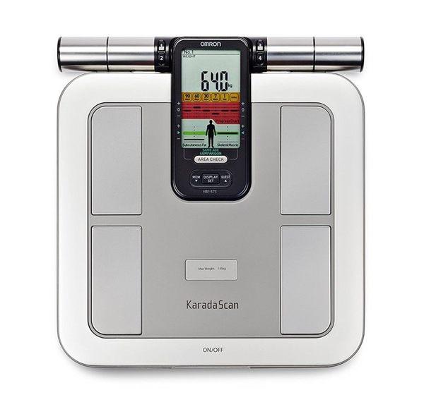 OMRON HBF375 歐姆龍體脂計 HBF-375 (贈皮脂夾+BMI皮尺)