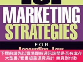 二手書博民逛書店101罕見Marketing Strategies For Accounting, Law, Consulting