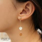 限量現貨◆PUFII-耳環 垂墜小圓耳針式耳環-1020 現+預 秋【CP19309】