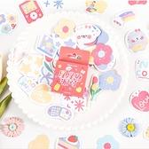 【BlueCat】星星糖派對 盒裝貼紙 手帳貼紙 (45入)