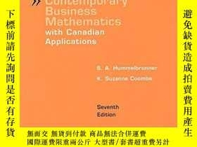 二手書博民逛書店Student s罕見Solutions Manual For Contemporary Business Mat