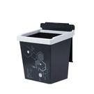 佳斯捷 方程式垃圾桶2.5L(小) 車用垃圾桶 掀蓋垃圾桶 收納桶 桌上垃圾桶 紙類回收 辦公室 台灣製