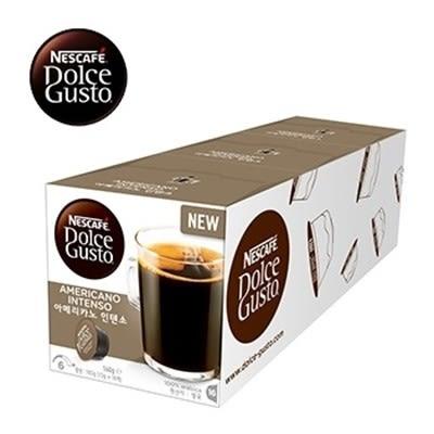 雀巢 新型膠囊咖啡機專用 美式經典濃烈咖啡膠囊 (一條三盒入) 料號 12286989 ★中度烘焙的濃郁尾韻