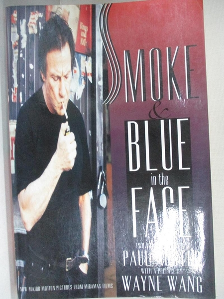 【書寶二手書T1/影視_EZR】Smoke and Blue in the Face_Paul Auster, Wayne Wang