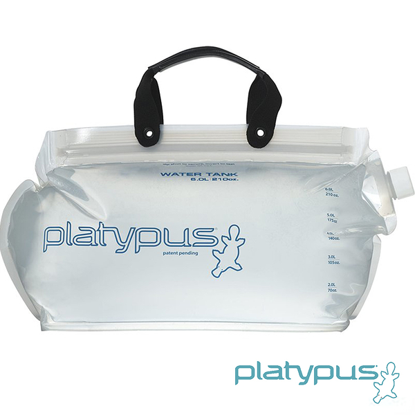【Platypus】Platy 鴨嘴獸大開口儲水袋 2.0L 07034 水袋 吸管水袋 馬拉松 路跑 自行車 登山