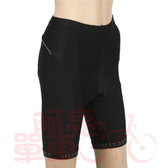 *阿亮單車* BikeSkin 自行車蜂巢五分短車褲(SH02),適合訓練與長途騎乘車友,黑色《C00-D-1》