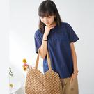 【慢。生活】純色拼接蕾絲棉質上衣 992...