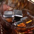不鏽鋼冰塊 304不鏽鋼冰塊鐵金屬石速凍鋼威士忌冰粒冰鎮神器抖音冰夾子