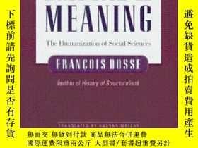 二手書博民逛書店Empire罕見Of Meaning-意義帝國Y436638 Francois Dosse Univ Of M