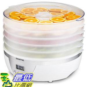 [107美國直購] 食物烘乾機 Gourmia GFD1550 Food Dehydrator With Digital Temperature Settings