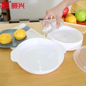 微波爐蒸籠專用盒器皿加熱盒塑料蒸鍋蒸屜隔水蒸饅頭菜蒸格HPXW