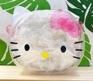 【震撼精品百貨】Hello Kitty 凱蒂貓~日本SANRIO三麗鷗KITTY造型透明提袋*07418