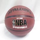 SPALDING 斯伯丁 PREMIER NBA 橘 七號籃球 籃球 SPA83003【iSport愛運動】