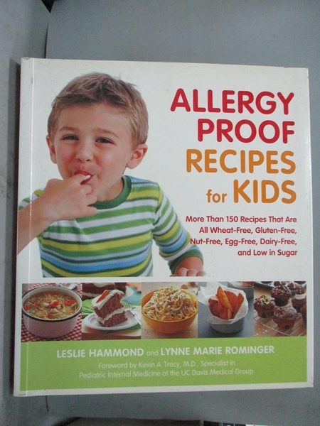 【書寶二手書T1/保健_YCW】Allergy-Proof Recipes for Kids-More Than..._Hammond